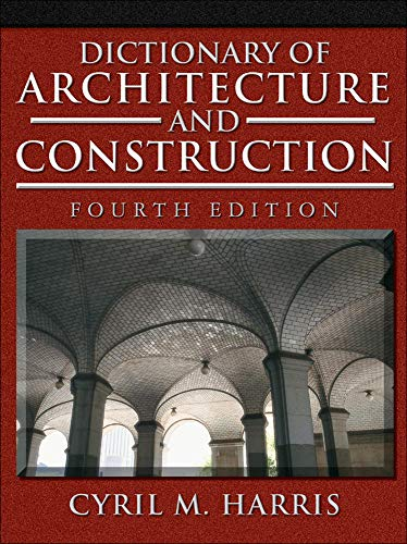 9780071452373: Dictionary of Architecture and Construction (P/L Custom Scoring Survey)