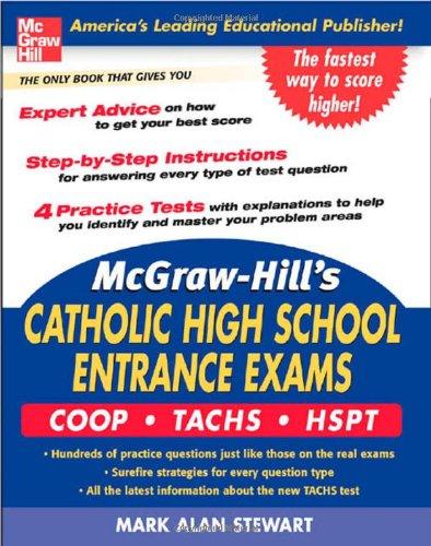9780071452892: McGraw-Hill's Catholic High School Entrance Exams: COOP-Tachs-HSPT (McGraw-Hill's Catholic High School Entrance Examinations)