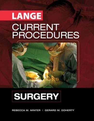 9780071453165: Lange current procedures: surgery