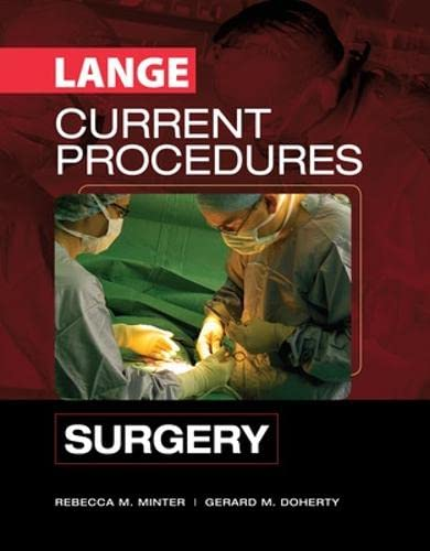9780071453165: CURRENT Procedures Surgery (Lange Current Series)