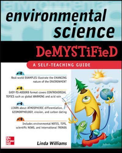 9780071453196: Environmental Science Demystified: A Self-teaching Guide