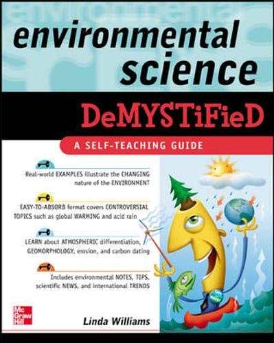 9780071453196: Environmental Science Demystified
