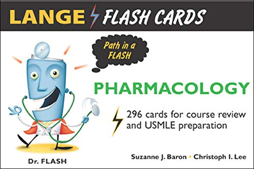 9780071453653: Lange Flash Cards Pharmacology