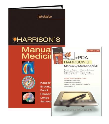 9780071453851: Harrison's Manual of Medicine