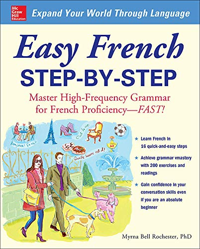 9780071453875: Easy French Step-by-Step