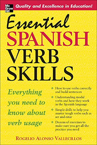 9780071453905: Essential Spanish Verb Skills