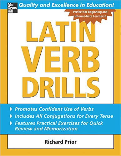 9780071453950: Latin Verb Drills