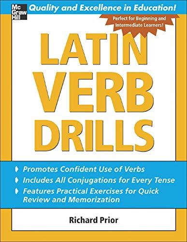 9780071453950: Latin Verb Drills (Drills Series)