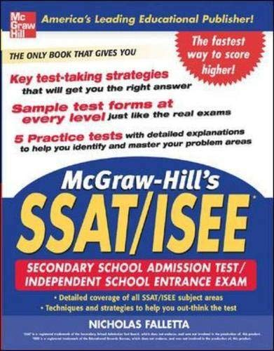 9780071453974: McGraw-Hill's SSAT and ISEE High School Entrance Examinations (McGraw-Hill's SSAT & ISEE High School Entrance Examinations)