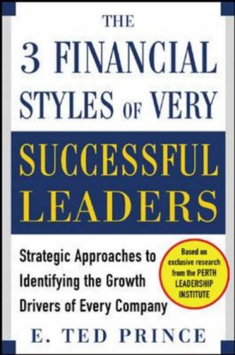 9780071454292: The Three Financial Styles of Very Successful Leaders: Strategic Approaches to Identifying the Growth Drivers of Every Company