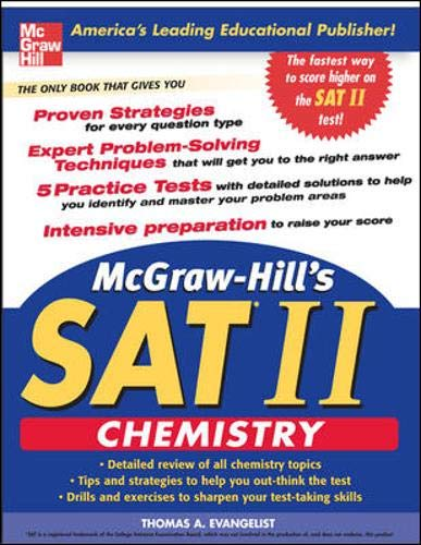 9780071455022: McGraw-Hill's SAT Subject Test: Chemistry (McGraw-Hill Series in Chemistry)