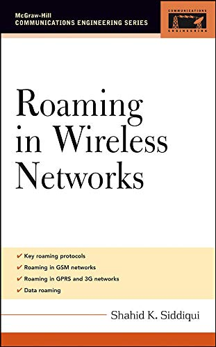 9780071455053: Roaming in Wireless Networks (McGraw-Hill Communications Engineering)