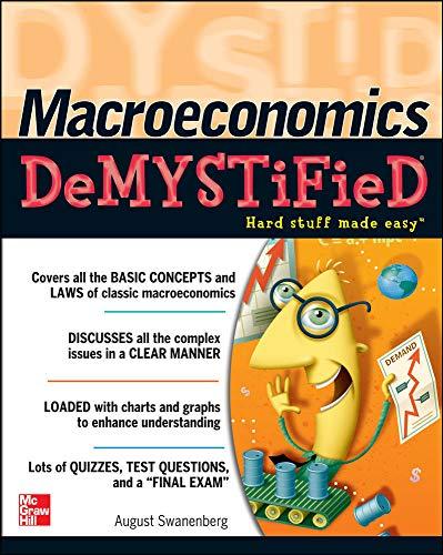 9780071455114: Macroeconomics Demystified: A Self-teaching Guide