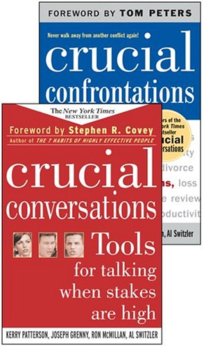 9780071455404: Crucial Conversations and Crucial Confrontations Value Pack