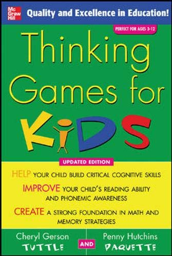 9780071455428: Thinking Games for Kids