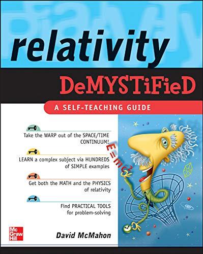 Relativity Demystified: David McMahon, Paul