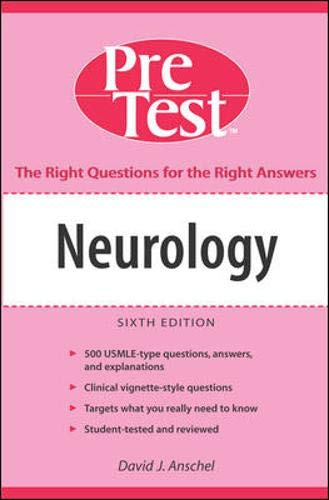 9780071455503: Neurology: PreTest Self-Assessment and Review, Sixth Edition (McGraw-Hill's Pretest Self-Assessment & Review)
