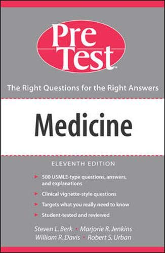 9780071455534: Medicine: PreTest Self-Assessment And Review, Eleventh Edition (PRETEST SERIES)