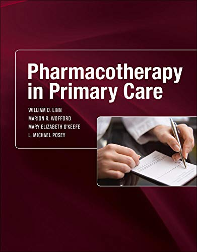 9780071456128: Pharmacotherapy in Primary Care (A & L Allied Health)
