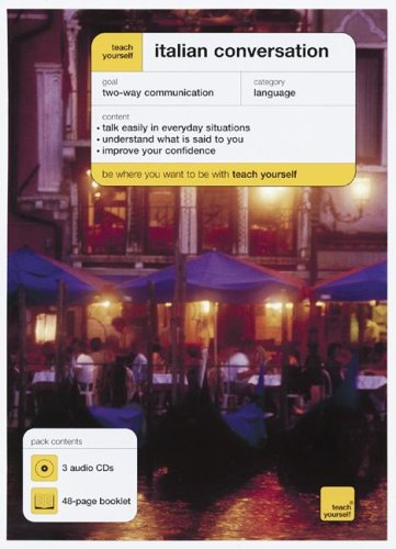 9780071456531: Teach Yourself Italian Converstation (3CDs + Guide) (Teach Yourself: Language)
