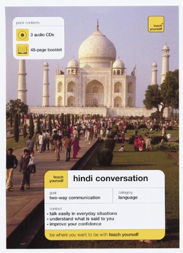 9780071456555: Teach Yourself Hindi Conversation (3cds + Guide) (Teach Yourself: Language)