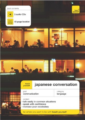 9780071456562: Teach Yourself Japanese Conversation (3CDs + Guide) (TY: Conversation)