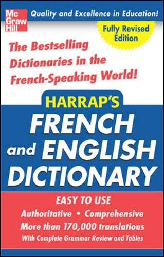 9780071456654: Harrap's French and English College Dictionary