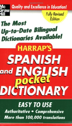 9780071456692: Harrap's Spanish and English Pocket Dictionary