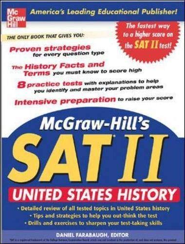 9780071456708: McGraw-Hill's SAT Subject Test: United States History (McGraw-Hill's SAT U.S. History)