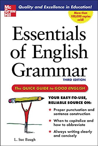 9780071457088: Essentials of English Grammar: A Quick Guide To Good English