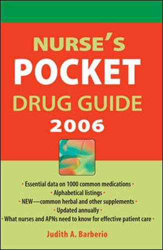9780071457316: Nurse's Pocket Drug Guide 2006