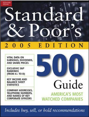 Standard & Poor's 500 Guide: Standard & Poor's