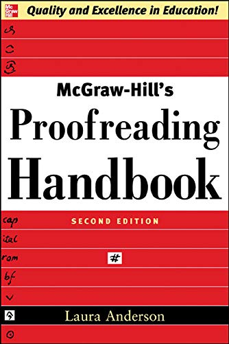 9780071457644: McGraw-Hill's Proofreading Handbook (NTC Reference)