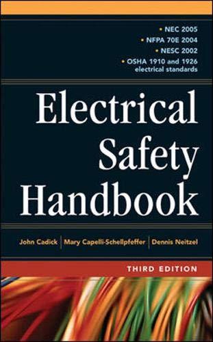 9780071457729: Electrical Safety Handbook 3E