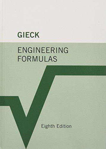 9780071457743: Engineering Formulas (Mechanical Engineering)