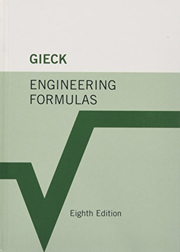 Engineering Formulas (0071457747) by Kurt Gieck; Reiner Gieck