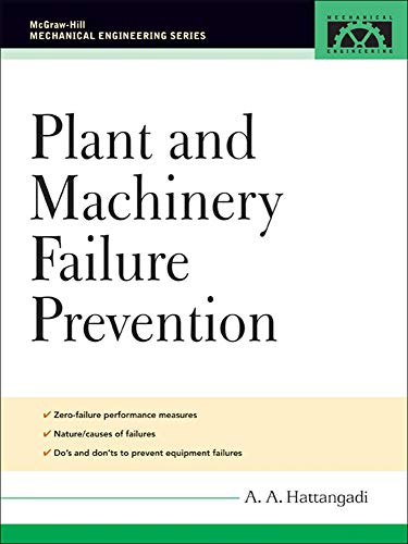 9780071457910: Plant and Machinery Failure Prevention (McGraw-Hill Mechanical Engineering)
