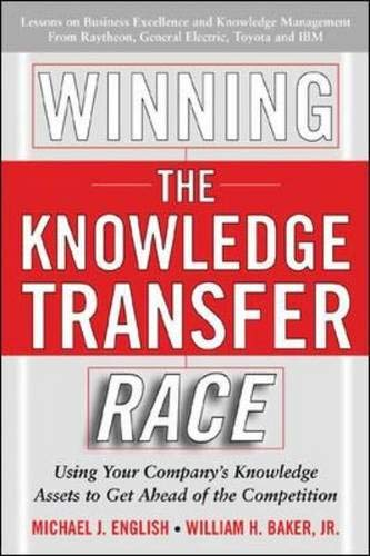 9780071457941: Winning the Knowledge Transfer Race