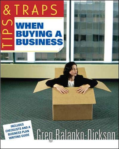 9780071457972: Tips & Traps When Buying a Business (Tips and Traps)