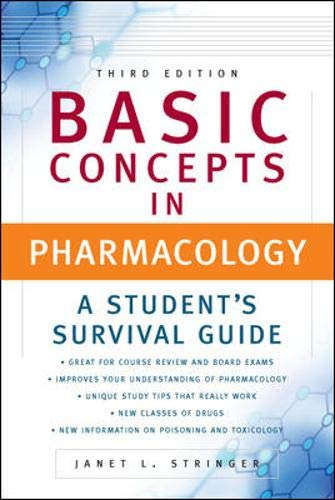 9780071458184: Basic Concepts in Pharmacology: A Student's Survival Guide