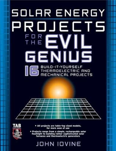 9780071458221: Solar Energy Projects for the Evil Genius