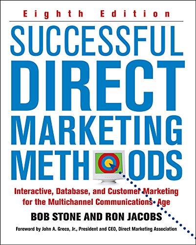 9780071458290: Successful Direct Marketing Methods