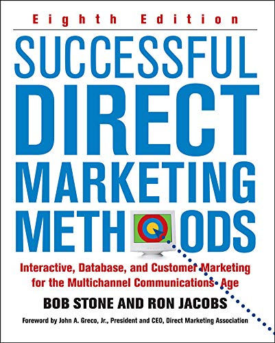 9780071458290: Successful Direct Marketing Methods: Interative, Database, and Customer-based Marketing for Digital Age