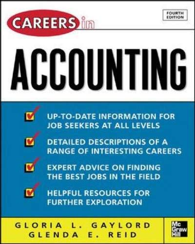 9780071458733: Careers in Accounting, 4th Ed. (Careers in... Series)