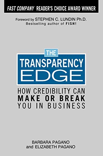 9780071458849: The Transparency Edge