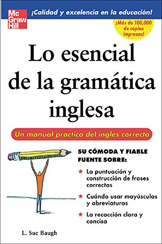 9780071458900: Lo esencial de la gramatica inglesa (Spanish Edition)