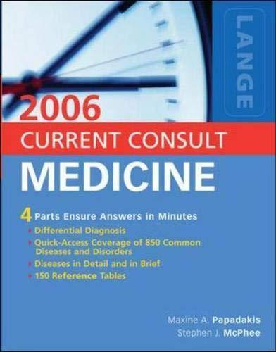 9780071458924: Current Consult Medicine 2006