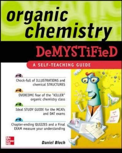 9780071459204: Organic Chemistry Demystified
