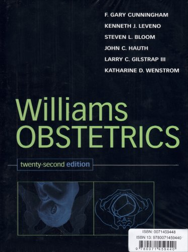 9780071459440: Williams Obstetrics Valuepack (Book and Study Guide)