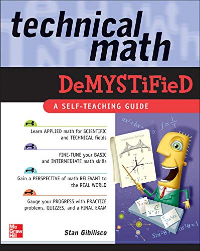 9780071459495: Technical Math Demystified